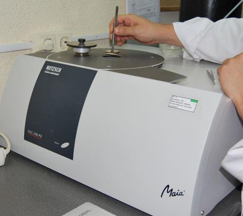 Ensayo tiempo inducción oxidación